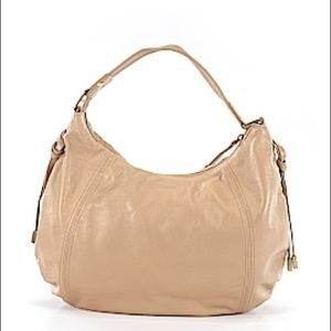 Kenneth Cole Reaction Gold Leather Hobo